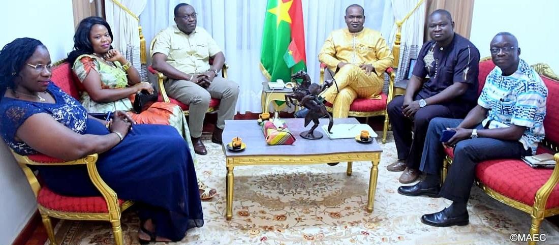 Rencontre avec le Ministre des affaires étrangères