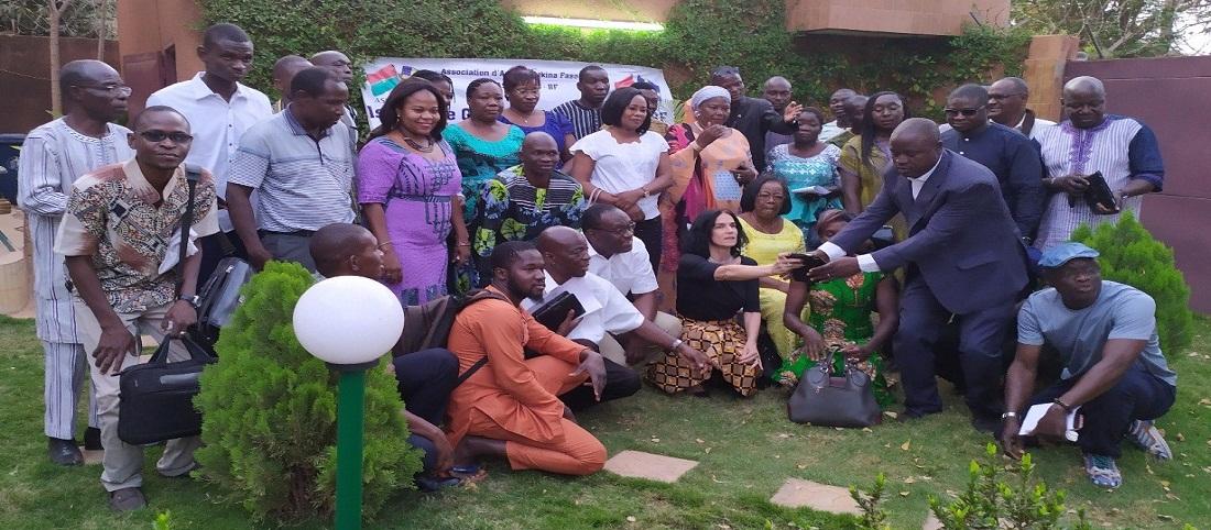 Les membres ASSAMBUS Burkina Faso
